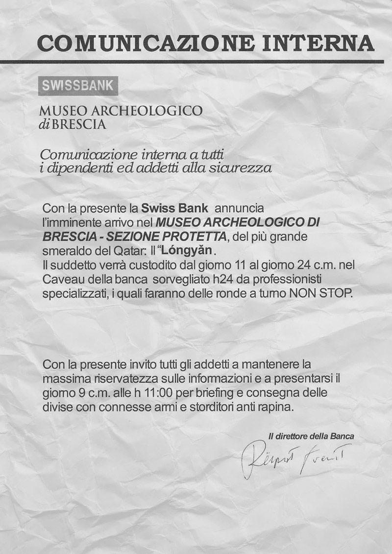 Comunicazione banca