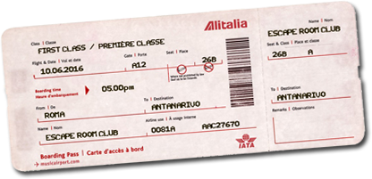 Biglietto Roma - Antananarivo