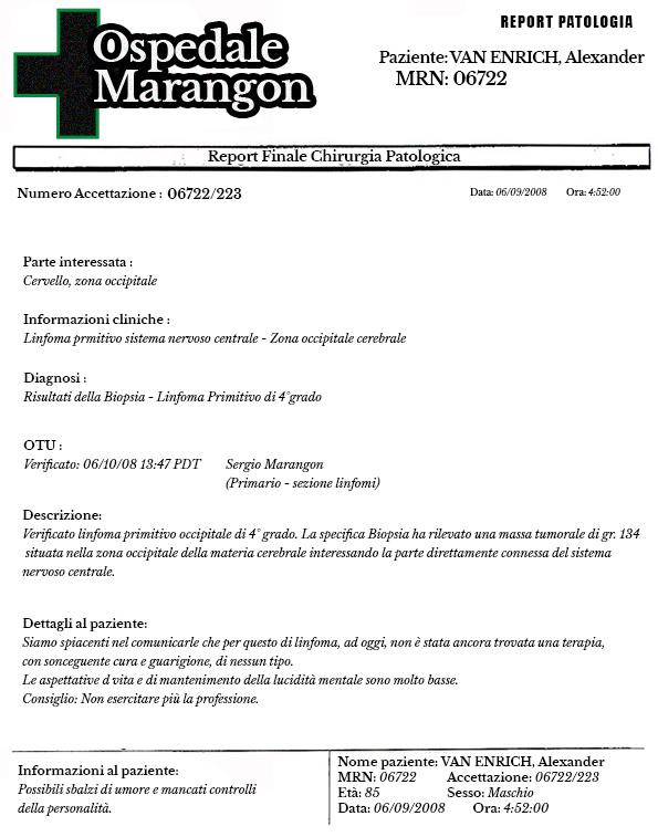 Referto Medico